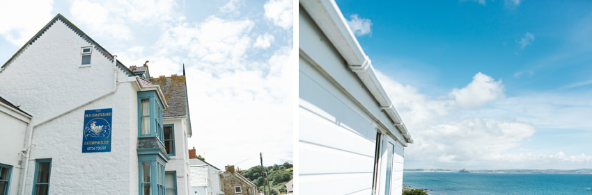 Old Coastguard, Wedding, Mouselhole
