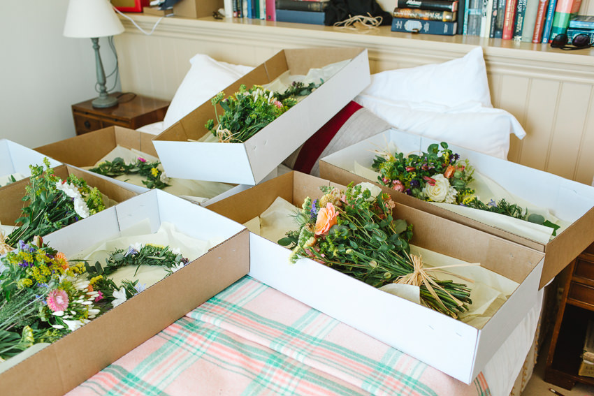 The Cornish Bunch, Wedding Flowers