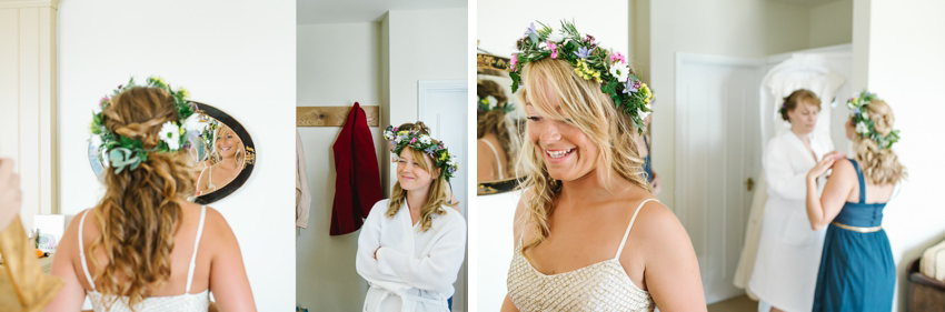 The Cornish Bunch Wedding flowers