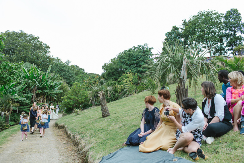 boho, humanist, wedding, cornwall
