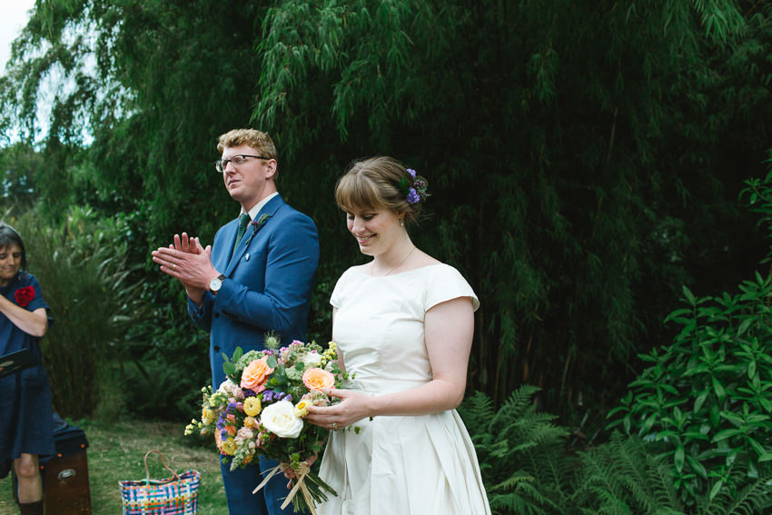 bohemian, humanist, wedding, cornwall