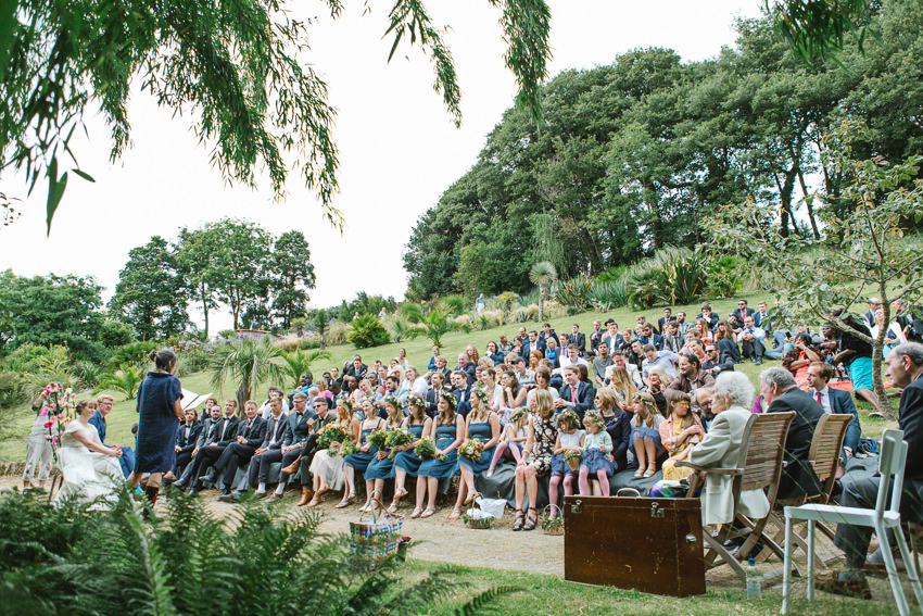 outdoor ceremony venue cornwall