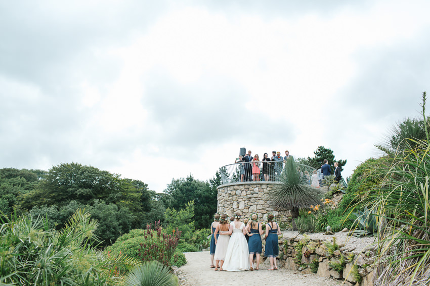 tremenheere, wedding, guests
