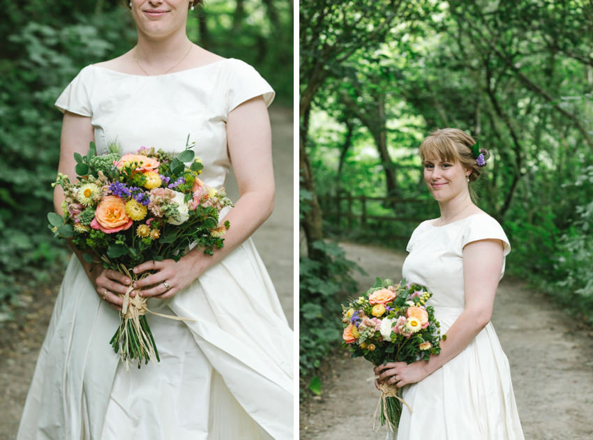 hope and harlequin wedding dress