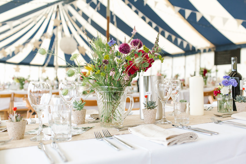 Outdoor Wedding at Tremenheere Gardens in Penzance, Cornwall
