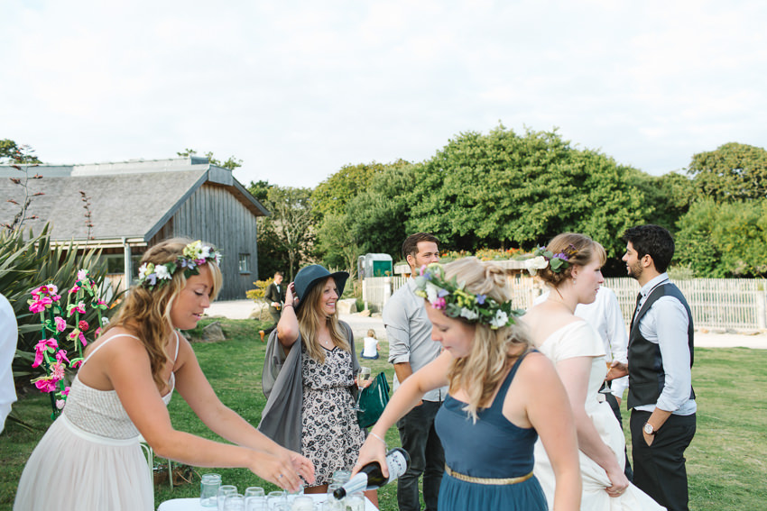 documentary wedding photography in cornwall