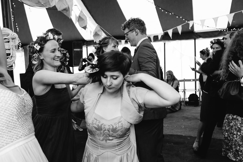 Ceilidh Wedding Party, Cornwall Wedding, Penzance Wedding Venue