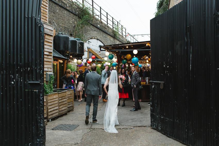 london fields, wedding, brewery