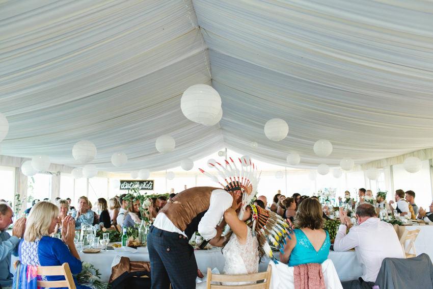 Cornish Tipi, Wedding, Marquee