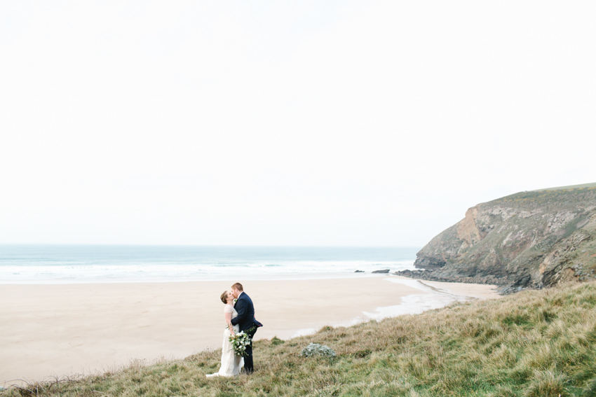 Beach, Scarlet Hotel Elopement, Cornwall, The Scarlet Hotel