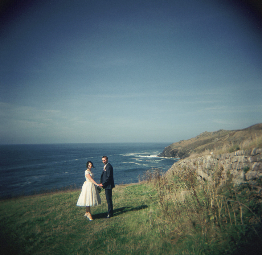 120 film holga, wedding