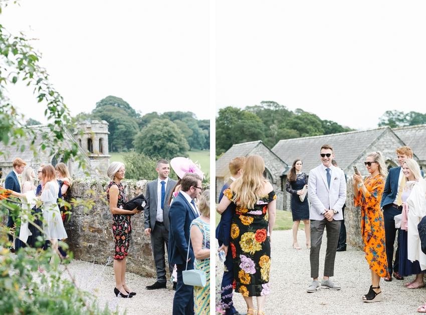 wedding in cornwall, boconnoc