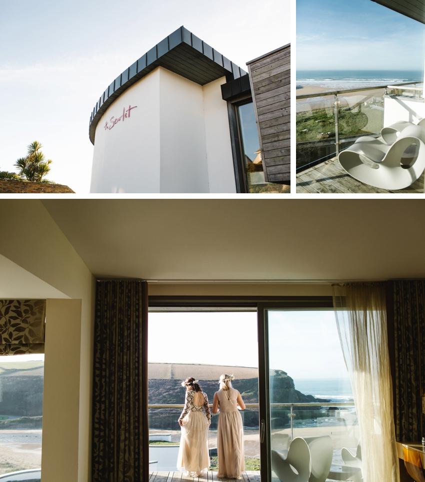 Scarlet Hotel Elopement, Cornwall