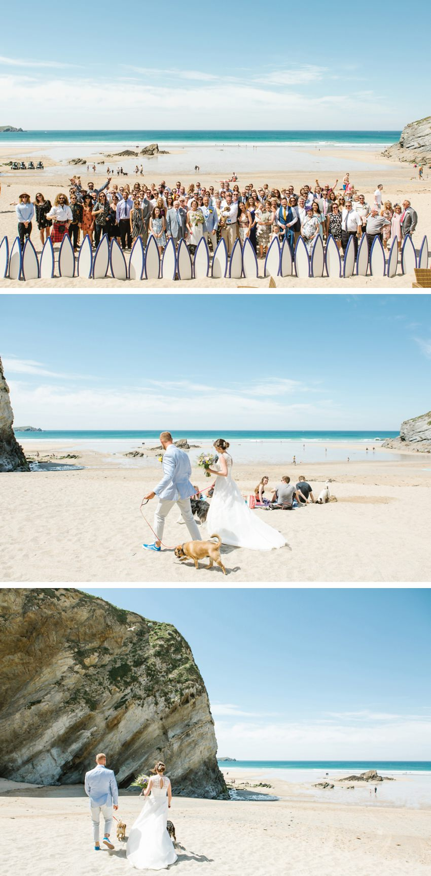 surf theme, wedding, cornwall, beach