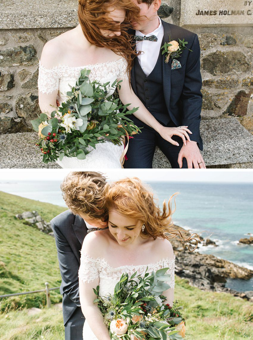 Elopement St Ives Cornwall