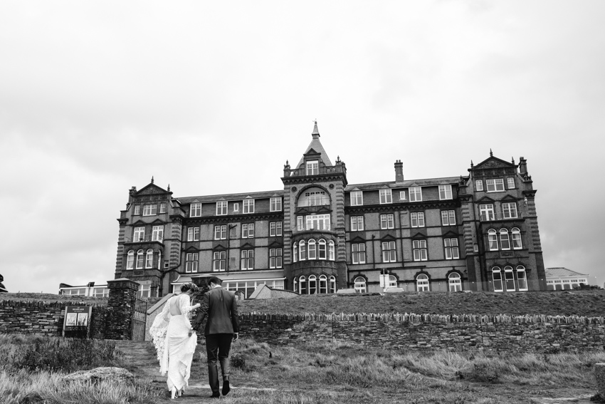 Headland, Hotel, Wedding, Newquay, Fistral, Boho, Beach, Ceremony