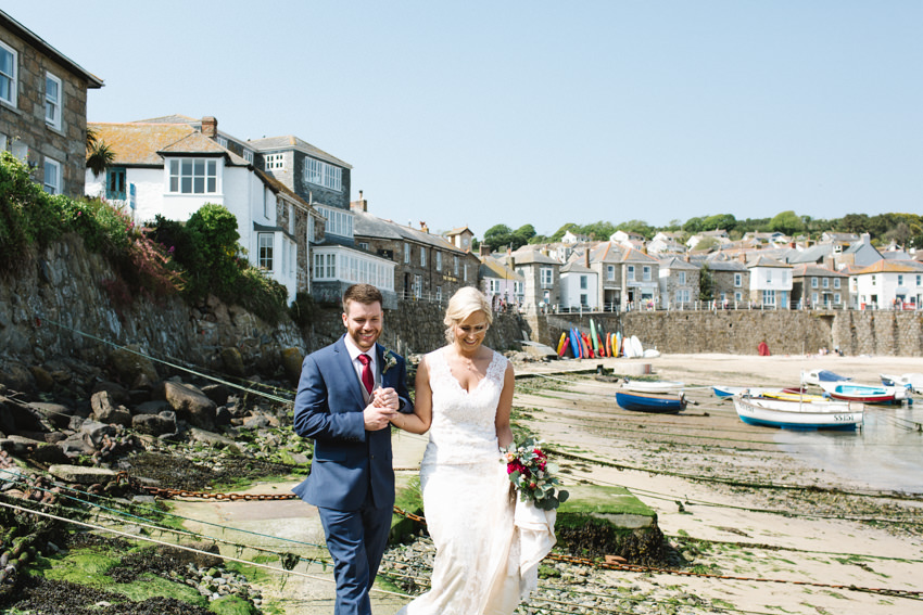 Mousehole, Wedding, Cornwall