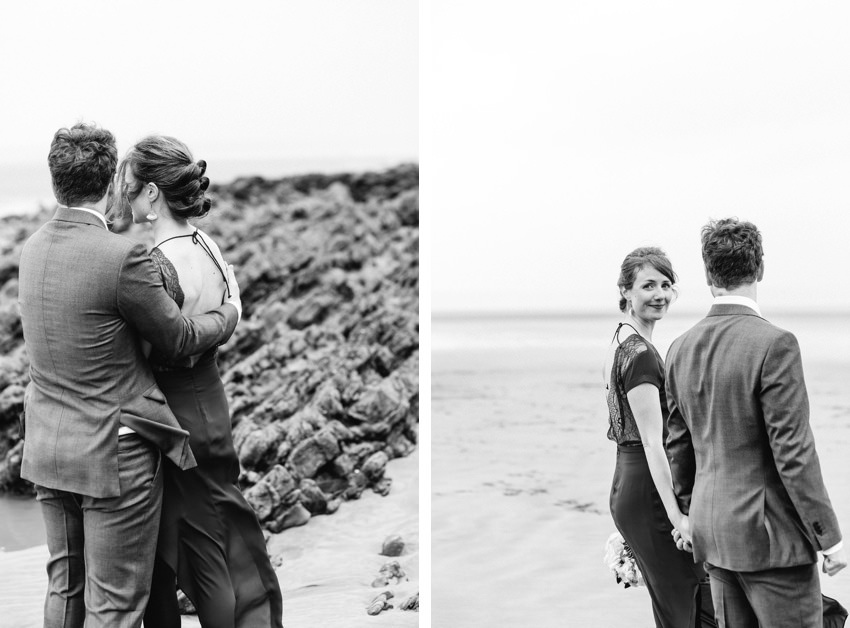 Intimate, Wedding, Saunton Sands, Winter